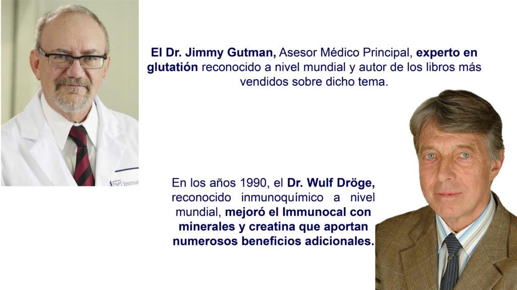 Dr. Jimmy Gutman, Asesor Médico Principal, experto en glutatión reconocido a nivel mundial y autor de los libros más vendidos sobre dicho tema.